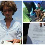 Ghaith Niazi es uno de los jóvenes sirios con el que charlamos en el campamento de Pireos en Cartas desde Grecia.