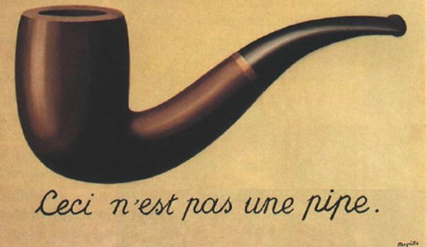 René Magritte, The Treachery of Images, 1928–29, Restored by Shimon D. Yanowitz, 2009
